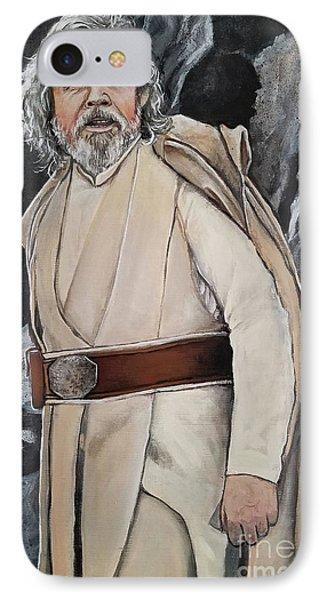 Luke Skywalker IPhone Case by Tom Carlton