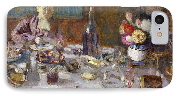 Luncheon IPhone Case by Edouard Vuillard