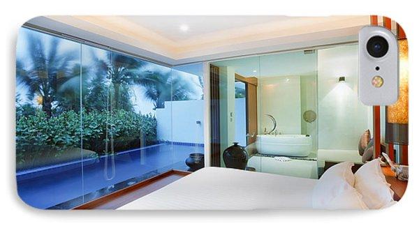 Luxury Bedroom IPhone Case by Setsiri Silapasuwanchai