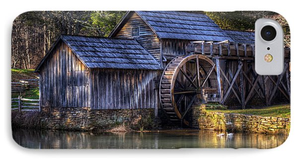 Mabry Mill IPhone Case by Steve Hurt