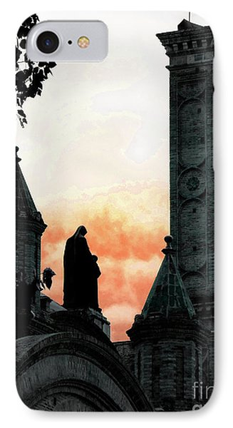 Madonna And Child II Phone Case by Al Bourassa