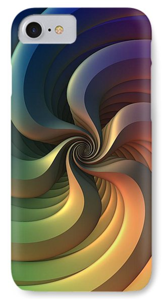 IPhone Case featuring the digital art Maelstrom by Lyle Hatch