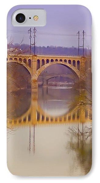 Manayunk Bridge Phone Case by Bill Cannon