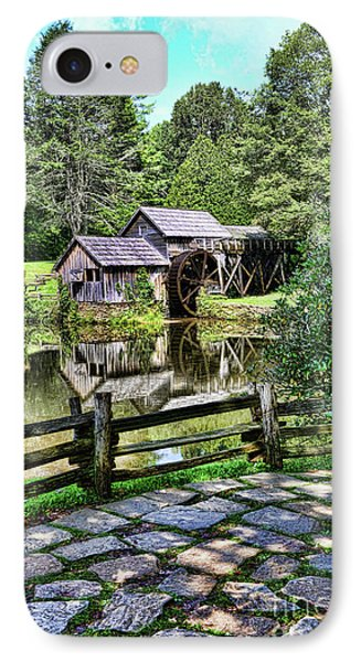 Marby Mill Pathway IPhone Case by Paul Ward