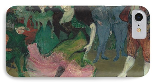 Marcelle Lender Dancing The Bolero In Chilperic IPhone Case by Henri De Toulouse-Lautrec