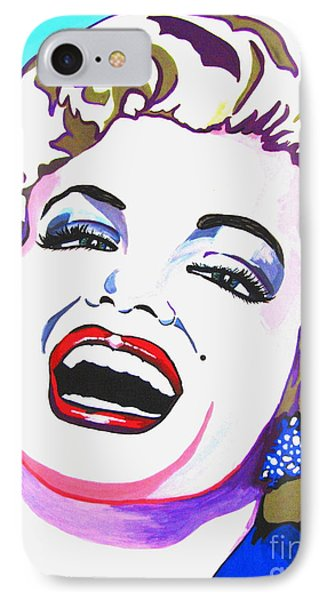 Marilyn Phone Case by Colleen Kammerer