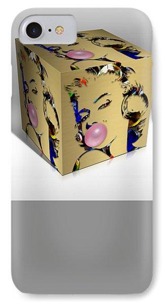 Marilyn Monroe Art IPhone Case by Marvin Blaine