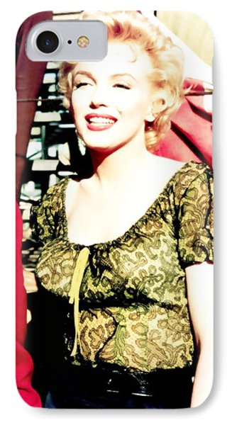 IPhone Case featuring the photograph Marilyn Monroe by R Muirhead Art