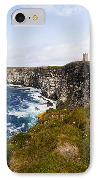 Marwick Head Rspb Nature Reserve IPhone Case by Kav Dadfar