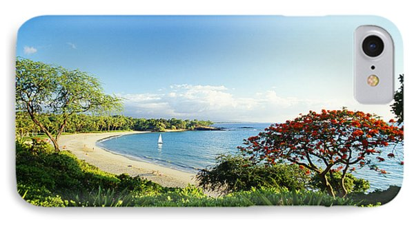 Mauna Kea Beach Phone Case by Peter French - Printscapes