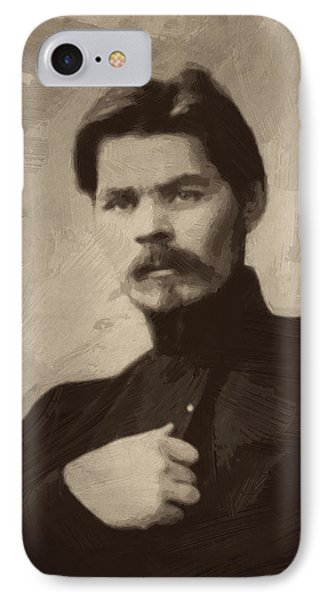 Maxim Gorky IPhone Case by Afterdarkness