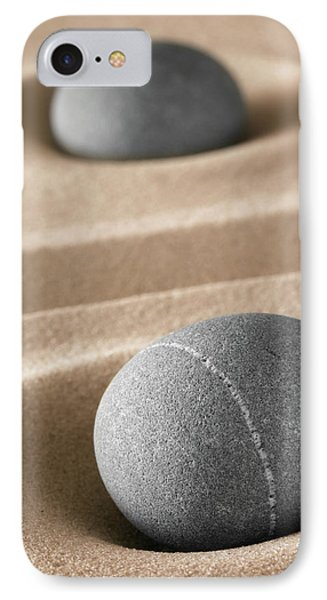 IPhone Case featuring the photograph Meditation Stones by Dirk Ercken
