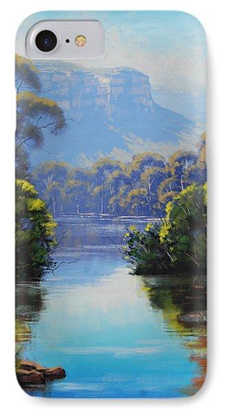 Megalong Creek IPhone Case by Graham Gercken