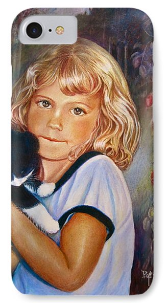 IPhone Case featuring the painting Melissa by Patricia Schneider Mitchell