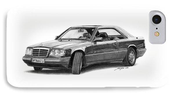 Mercedes-benz E-class Coupe Phone Case by Gabor Vida