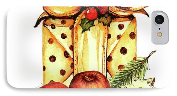 Merry Christmas IPhone Case by Heidi Kriel