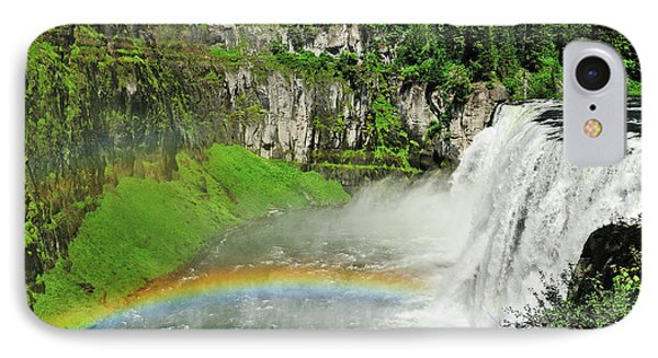 Mesa Falls IPhone Case by Greg Norrell