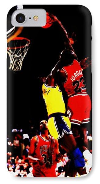 Michael Jordan Above The Rim IPhone Case
