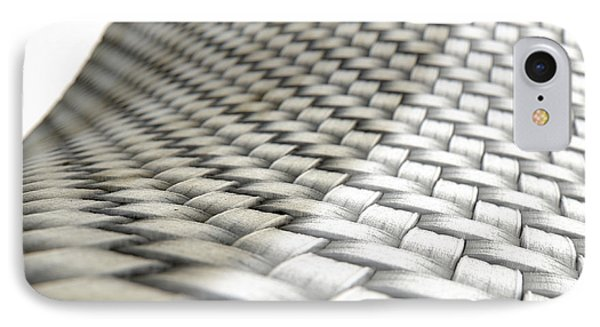 Micro Fabric Weave Comparison IPhone Case by Allan Swart