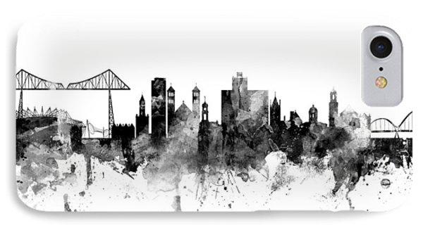 Middlesbrough England Skyline IPhone Case