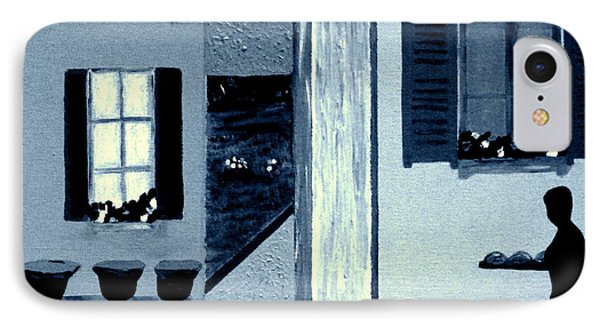 Midnight In Limoux IPhone Case by Bill OConnor
