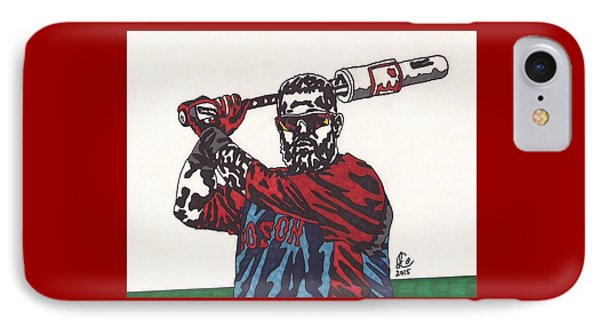 Mike Napoli 2 IPhone Case by Jeremiah Colley