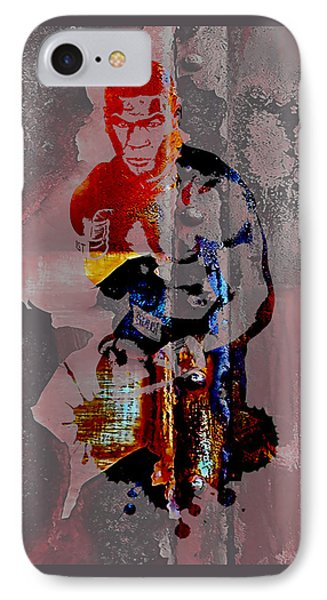 Mike Tyson Collection IPhone Case by Marvin Blaine