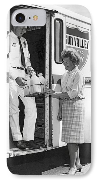 Milkman Home Delivery IPhone Case