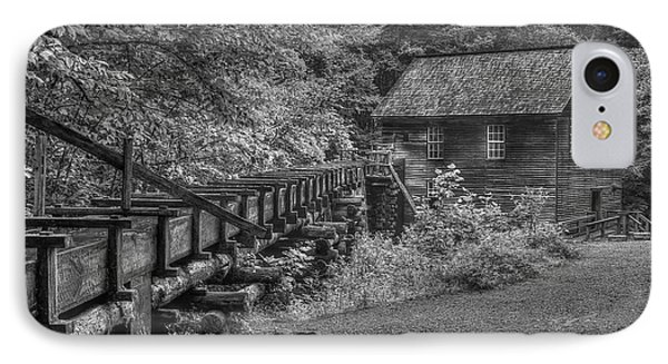 IPhone Case featuring the photograph Mingus Mill 3 Mingus Creek Great Smoky Mountains Art by Reid Callaway