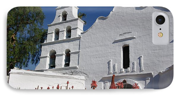 Mission San Diego IPhone Case by Jeff Lowe