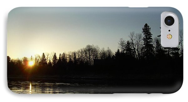 IPhone Case featuring the photograph Mississippi River Sunrise Reflection by Kent Lorentzen