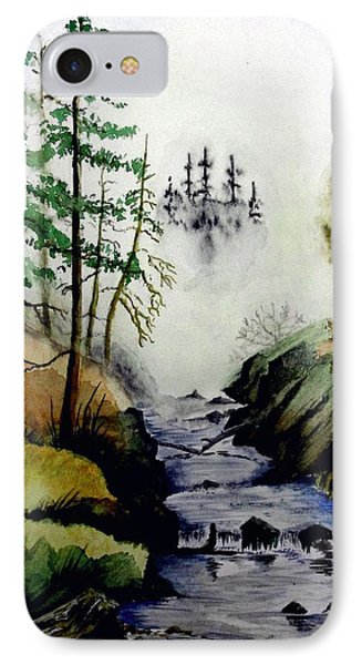 Misty Creek IPhone Case by Jimmy Smith