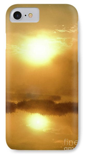 Misty Gold IPhone Case