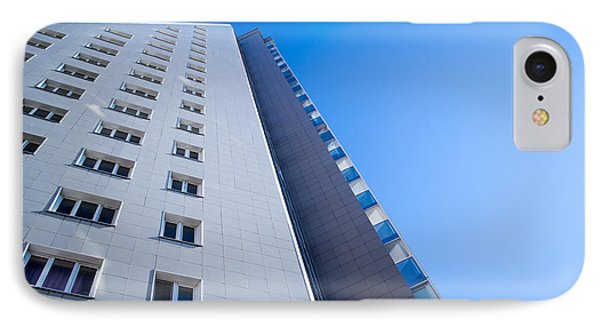Modern Apartment Block IPhone Case by John Williams