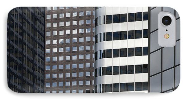 Modern High Rise Office Buildings Phone Case by Roberto Westbrook