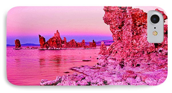 Mono Lake Dawn Phone Case by Dennis Cox