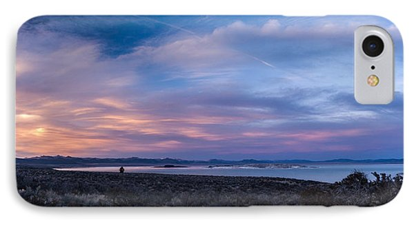 Mono Lake Sunset IPhone Case by Cat Connor