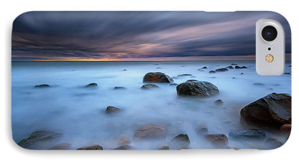 Montauk Mist IPhone Case by Rick Berk