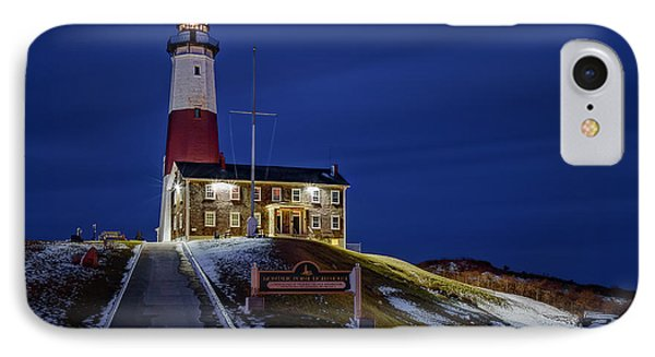 IPhone Case featuring the photograph Montauk Point Lighthouse by Susan Candelario