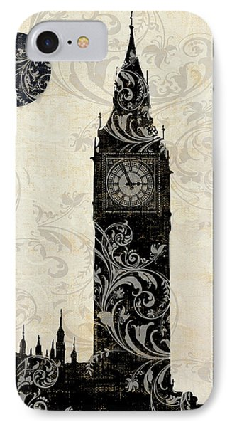 Moon Over London IPhone 7 Case by Mindy Sommers