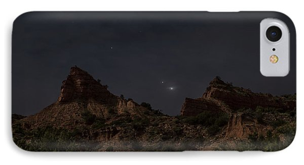 IPhone Case featuring the photograph Moonlit Canyon by Melany Sarafis