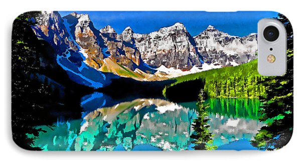 Moraine Lake Phone Case by Dennis Cox WorldViews