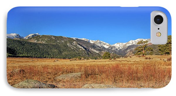 IPhone Case featuring the photograph Moraine Park In Rocky Mountain National Park by Peter Ciro