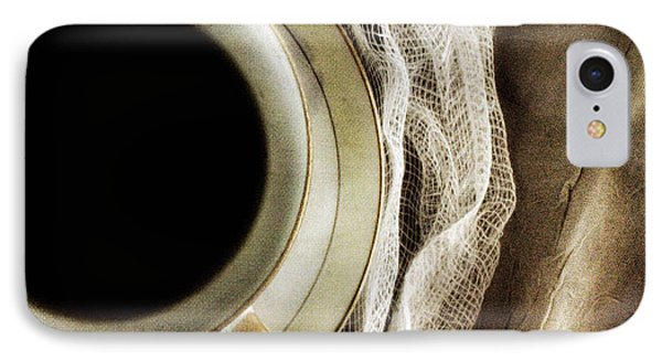 IPhone Case featuring the photograph Morning Coffee by Bonnie Bruno