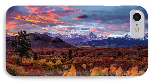 IPhone Case featuring the photograph Morning Drama In The Colorado Rockies by Andrew Soundarajan