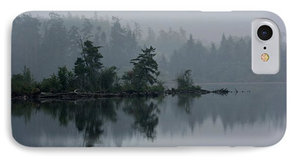 Morning Fog Over Cranberry Lake IPhone Case