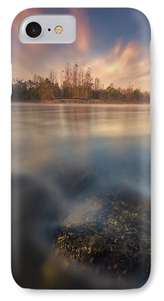 IPhone Case featuring the photograph Morning On River by Davorin Mance