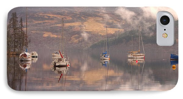 Morning Reflections Of Loch Ness IPhone Case