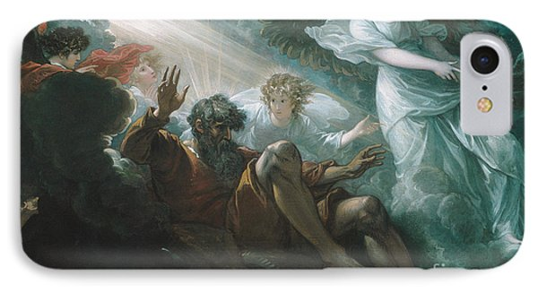 Moses Shown The Promised Land IPhone Case by Benjamin West