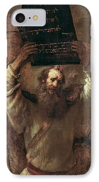Moses Smashing The Tablets Of The Law IPhone Case